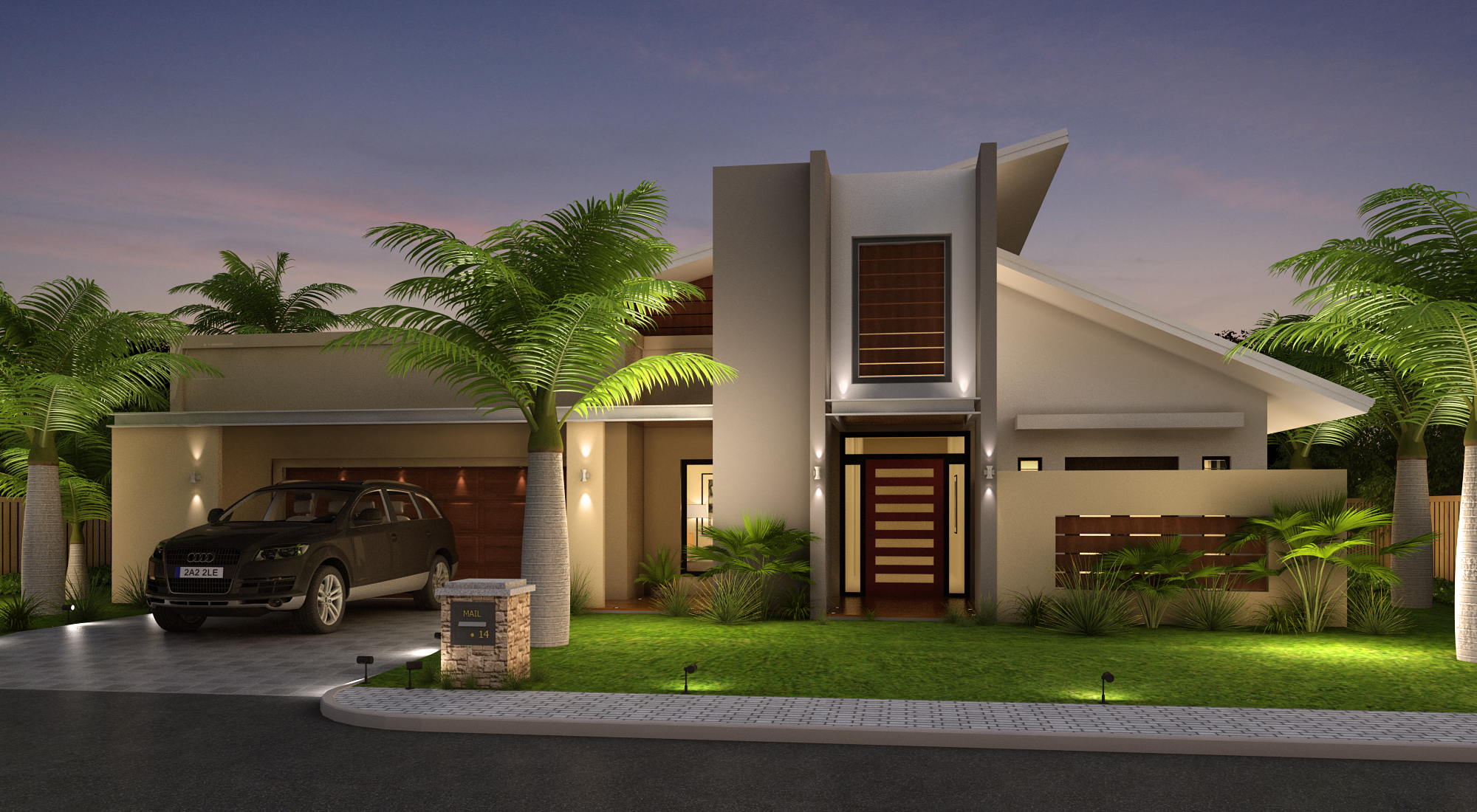 Beautiful Home Front Elevation designs and Ideas on Beautiful Home Decor  id=71025