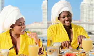 Tracey Boakye Busted After Overediting her Photo to Look Curvy Making her Arms Look Like Chopsticks – Photo