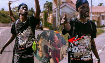 'I Taya' - Black Sherif Cries Out After Photo Of Him Grinding A Lady In Pool Goes Viral