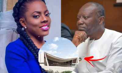 'GHc 100 Is Someone's Monthly Income' Nana Aba Anamoah Jabs Nat'l Cathedral Monthly Donation Appeal By Gov't