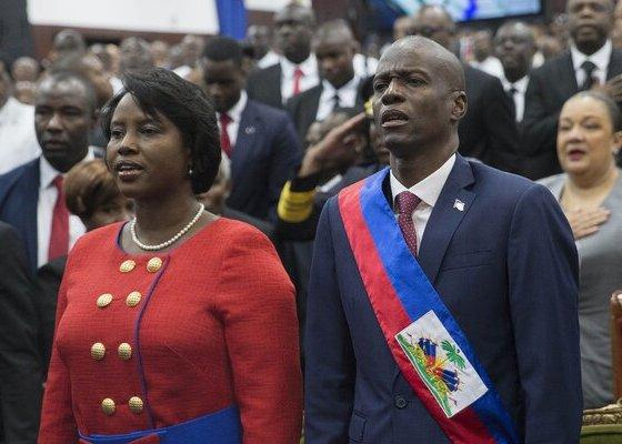 Killed Haiti President, Jovenel Moïse Buried! [Photos]