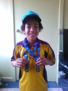 World Hurdles Record Holder, Tayleb Willis At 8years