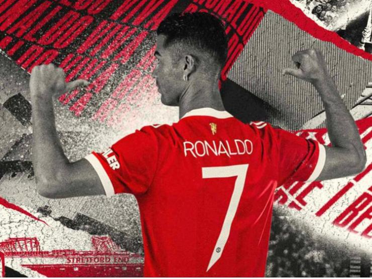 Cristiano Ronaldo Given The Number 7 Jersey