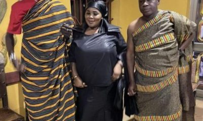 Ahafo Chief Welcomes Black Sherif In grand Style [Video]