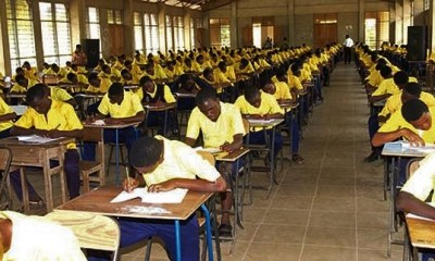 WASSCE Candidate Delivers In Exams Hall, Returns To Complete Paper