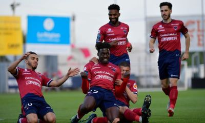 French Ligue 1 side Clermont Foot 63 Jamming To Black Sherif's 2nd Sermon After A Win Over Lille