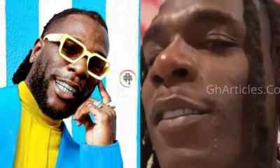 Massive Reactions As Burna Boy Goes Beardless For The First Time; Video Drops