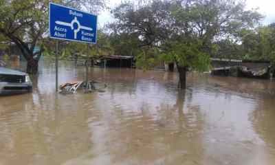 Parts Of Koforidua Flooded After A 2-Hour Heavy Downpour