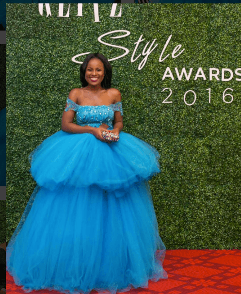 Berla Mundi at 2016 Glitz Style Awards