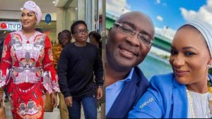 Bawumia And Wife Samira Son 696x392