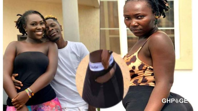 Shatta Wale And Girlfriend 696x392