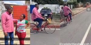 John Dumelo Bicycle Campaign