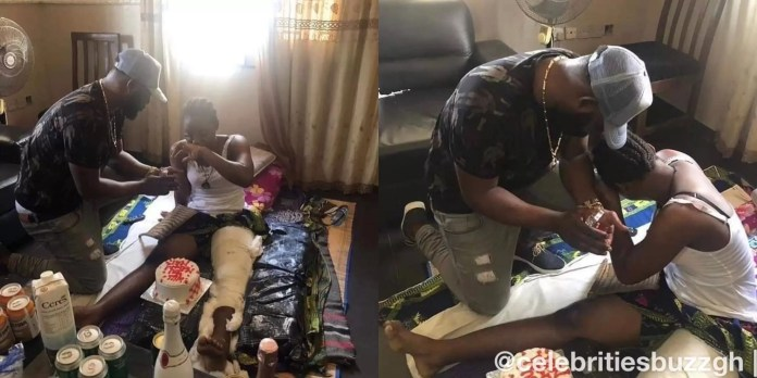 Man Propose To Girlfriend On Sick Bed