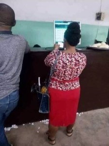 Woman Staking Bet3