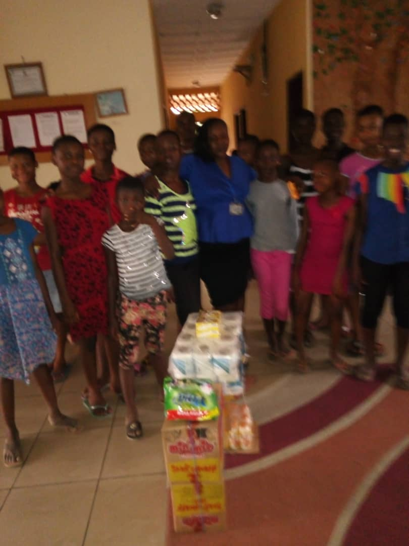 Celebrating Valentine With Children At Oasis Of Love Orphanage Home