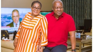 Ex President, Mahama and Wife Celebrate 28th Marriage Anniversary With This Lovely Photos | Check