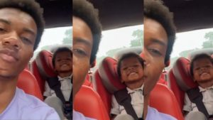 Kidi And Look-alike Son Storm Social Media With Daddy And Son Goals