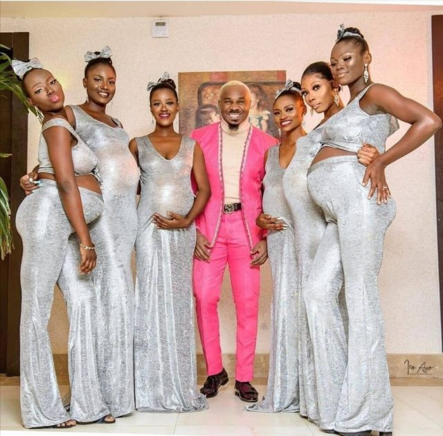 Pretty Mike: Video And Picture Drop As Man Impregnates 6 Baby Mamas At Once, Shows Them Off In Public