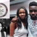Sarkodie's sister Veronica Owusu-Addo doing campaigns for NDC