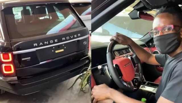 Mr Eazi buys himself a brand new Range Rover worth $200,000 as Christmas gift