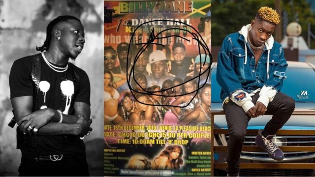 """""""Eiii We Tire Before Before""""- Stonebowy Reacts To A Throwback Show He Participated In With Shatta Wale"""