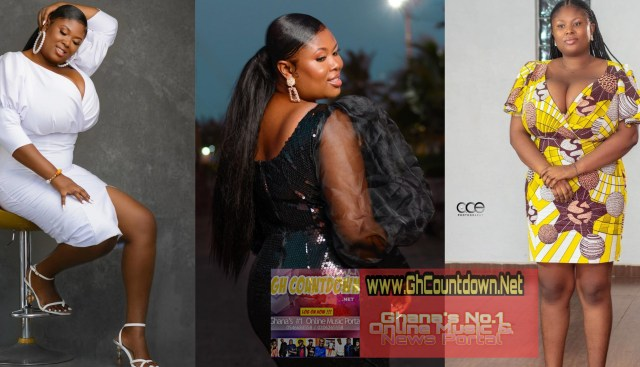 """Watch Some Eye Catching Photos Of """"Queen Patricia"""" With a huge Br@^st Than Pamela Odame"""