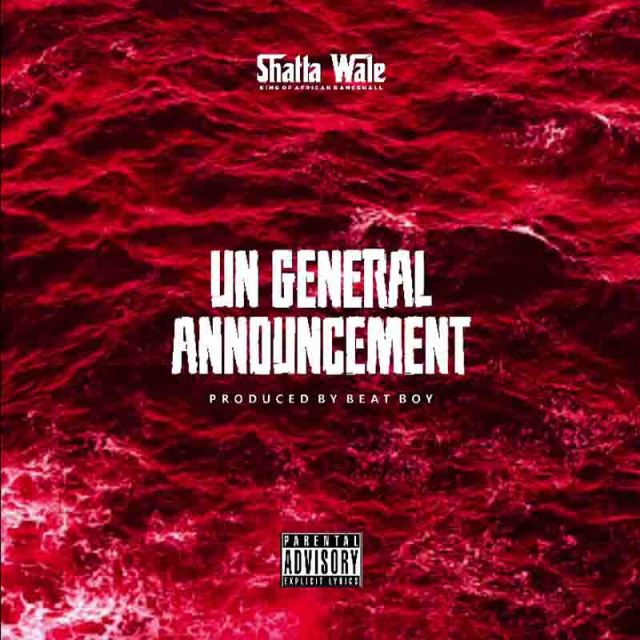 Shatta Wale - UN General Announcement 2 (Samini Diss)
