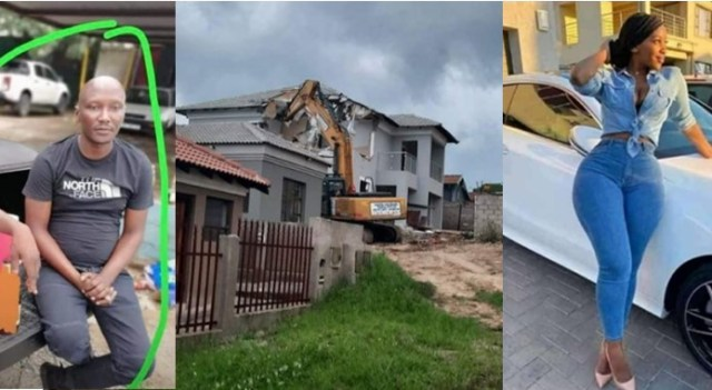 Man who demolished house he built for girlfriend finally tells his part of the story