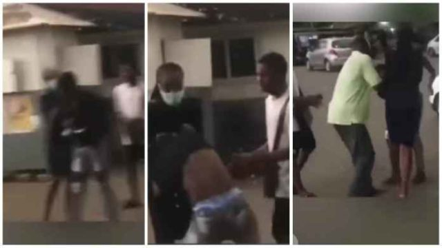 Lady Attacks Playboy On Campus For Running Away After Impregnating her; Video Drops