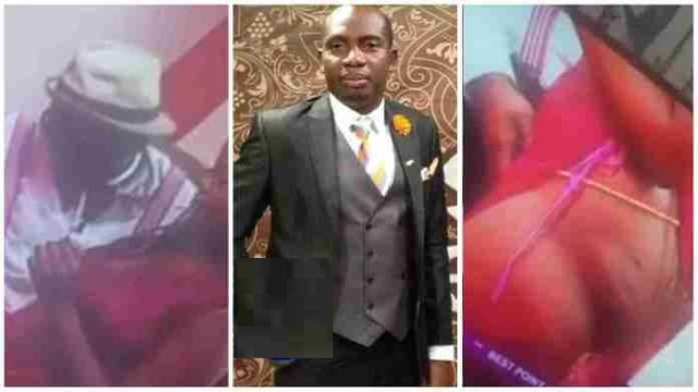 """Video of Counselor Lutterodt playing with the """"V@g!na"""" of a lady live on Tv goes viral"""