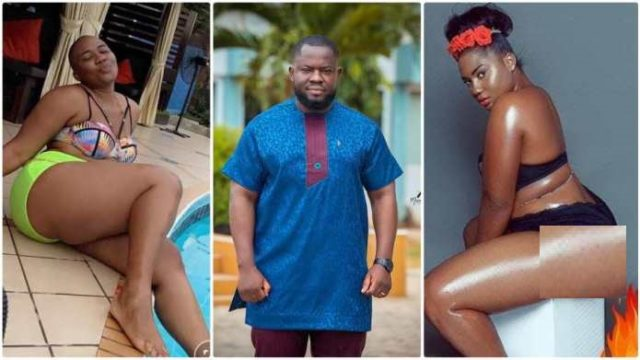 UCC 'badgirl' Abena Korkor exposes Giovani Caleb for Sleeping with her; drop details of their escapade [Watch]