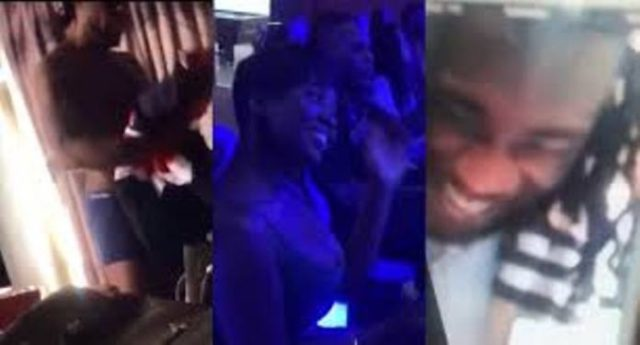 Princess Shyngle clout chasing as she shares loved-up video with Ex-boyfriend Burna Boy while congratulating him