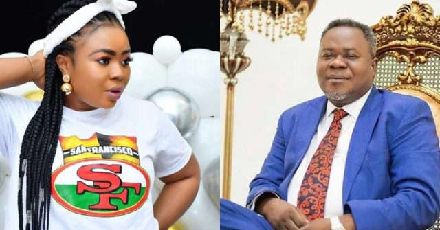 Adu Safowaa tears up during live Interview; Apologizes to Dr Kwaku Oteng for dragging his name in the mudhim (Watch Video)