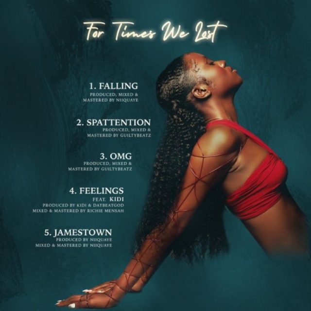 Cina Soul - For Times We Lost EP - Tracklist