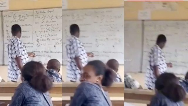 """University lecturer is unable to Find """"x"""" Maths problem he gave students Is Causing Stir Online (Watch Video)"""