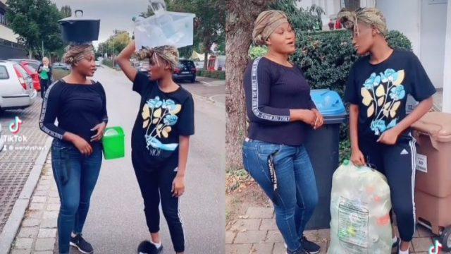 """""""Krom Ay3 Hye, Bibiaa alock!"""" Wendy Shay And Her Mother Seen On The Street """"Hustling"""" For Money (Video)"""