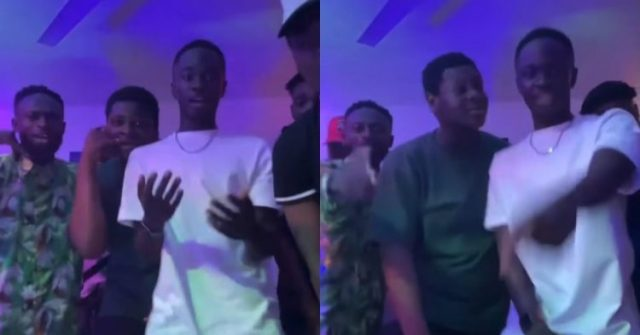 After School, Yaw Tog Seen With His Team Jamming To His Next To Be Released Banger (Video)