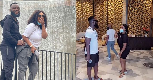 Nana Ama McBrown recovers Fully from Surgery; See How She And Her Husband plays Together