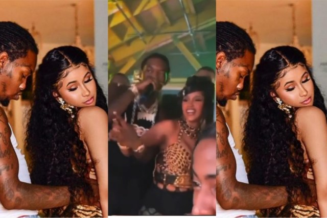 Offset Gifts wife, Cardi B A Huge Mansion As her 29th Birthday Gift (Watch)