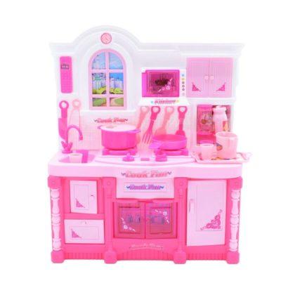 Bucătărie în miniatură copii cu accesorii incluse