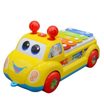 Jucărie bebeluși xilofon Mașinuța Magică