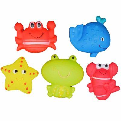 Set jucării de baie din cauciuc Water World