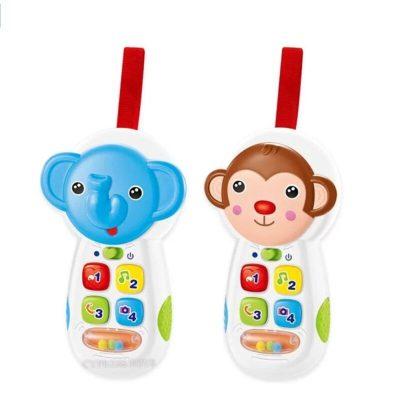 Jucărie telefon muzical bebeluși Funny Animals