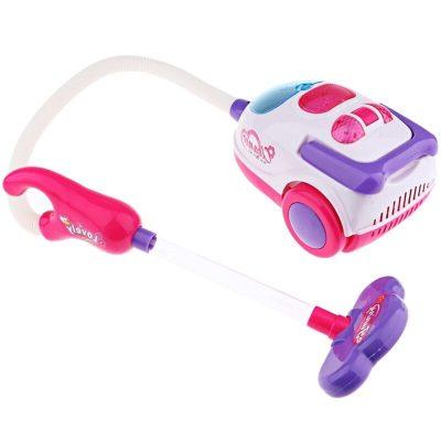 Jucărie aspirator pentru copii cu sunete și lumini