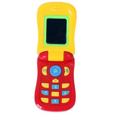 Jucărie telefon muzical bebeluși