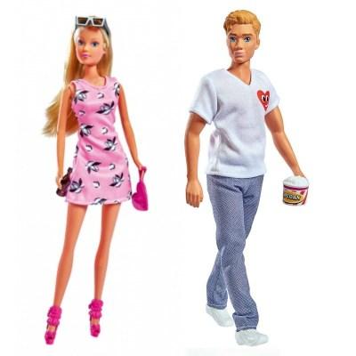 Set păpuși la cinema - Steffi și Kevin