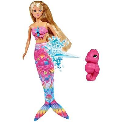 Păpușă sirena magică Color Change - Steffi