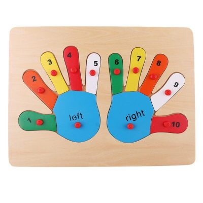 Puzzle lemn incastru cu butoni palmă