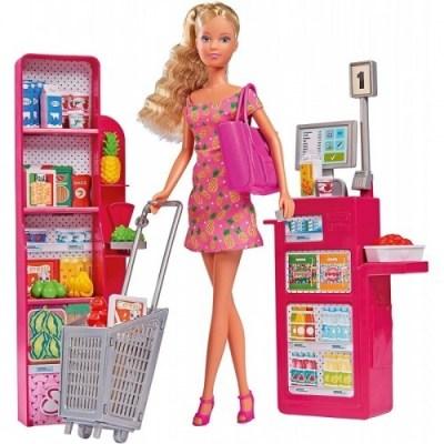 Set păpușă la supermarket - Steffi Love