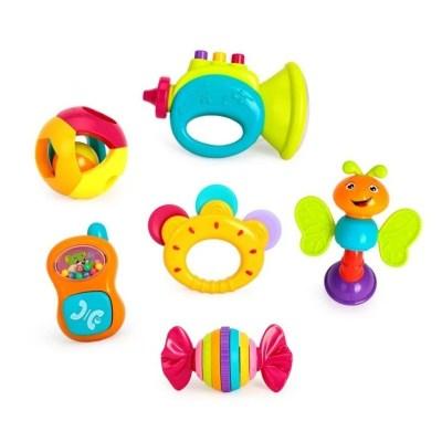 Set 6 jucării zornăitoare pentru bebeluși